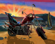 Chopper Motorcycle Cycle Surf Bike Beach Cruiser